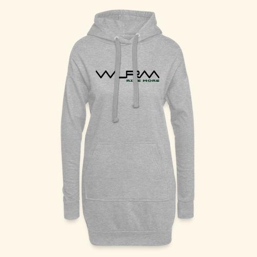WLRM Schriftzug black png - Hoodie-Kleid