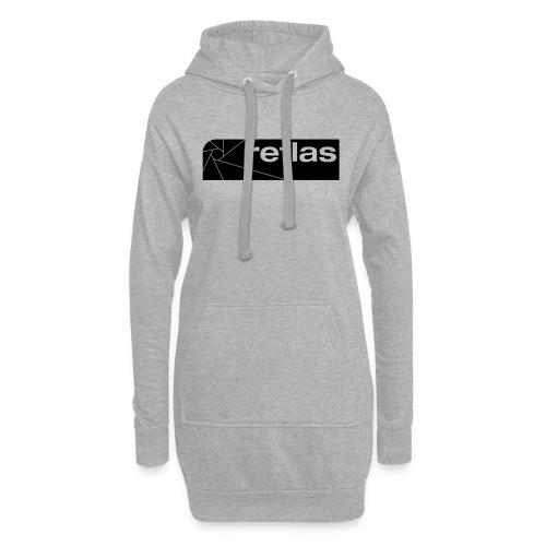 Reflas Clothing Black/Gray - Vestitino con cappuccio