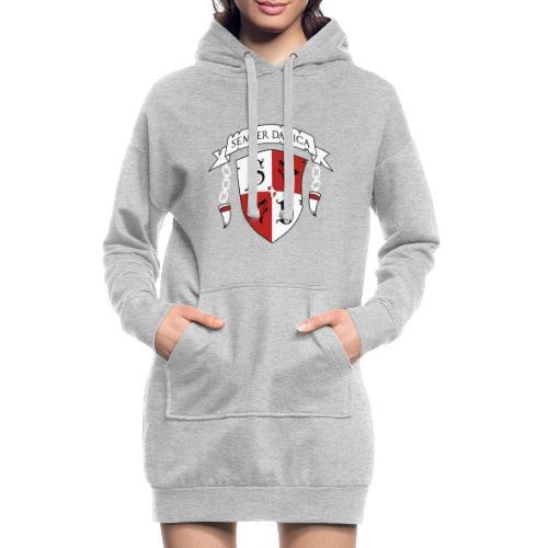 SD logo - hvide lænker - Hoodie-kjole