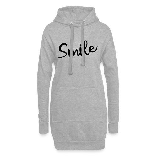 Smile - Hoodie-Kleid