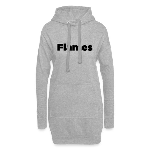 Plump Flames Logo - Hoodie Dress