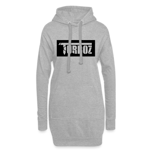 Black Turboz Background - Hoodie Dress
