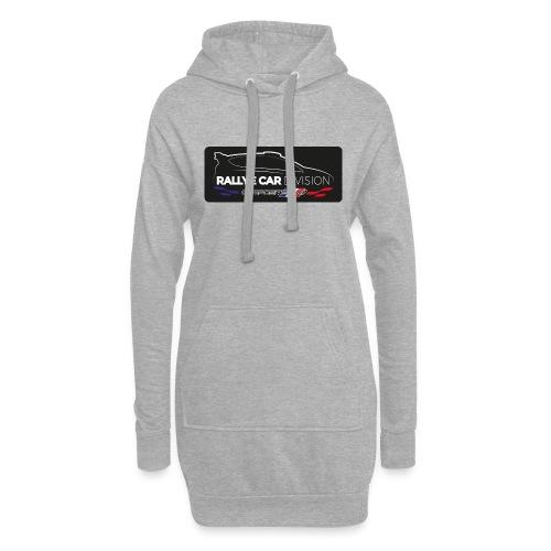 logo rc composite - Sweat-shirt à capuche long Femme