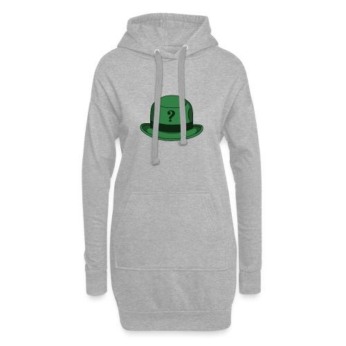 Grüner Rätsel Hut Riddler - Hoodie-Kleid