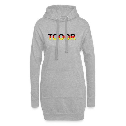 TOOOR-Schatten-transparen - Hoodie-Kleid