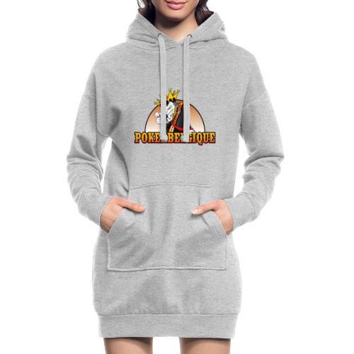 Logo Poker Belgique - Sweat-shirt à capuche long Femme