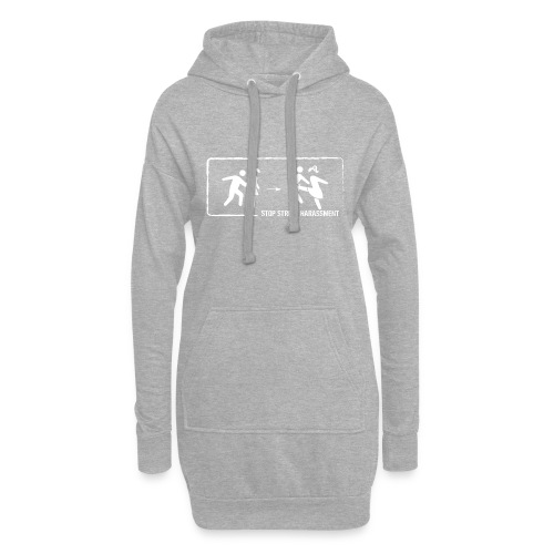 Stop street harassment: We don't touch! - Hoodie Dress
