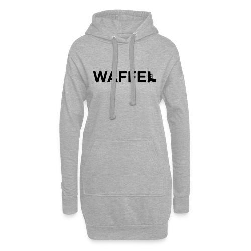 Waffel Waffe - Hoodie-Kleid