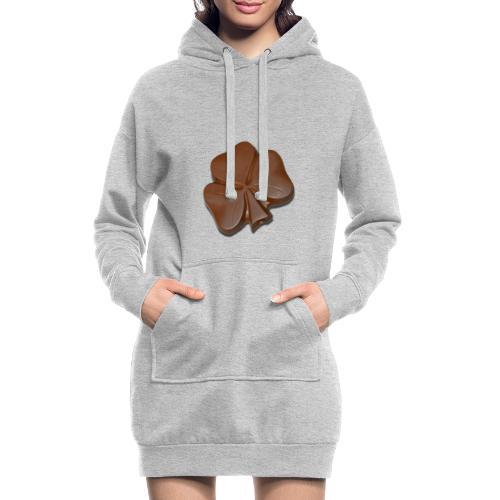 Chocolate Shamrocks - Hoodie Dress