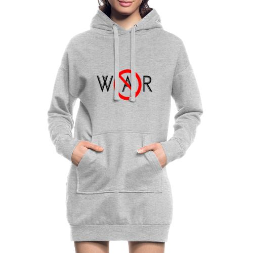 TIAN GREEN - No War - Hoodie-Kleid