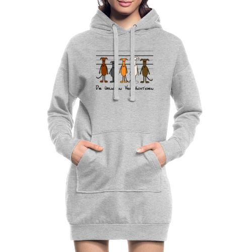 Die üblichen Verdächtigen - Hoodie-Kleid