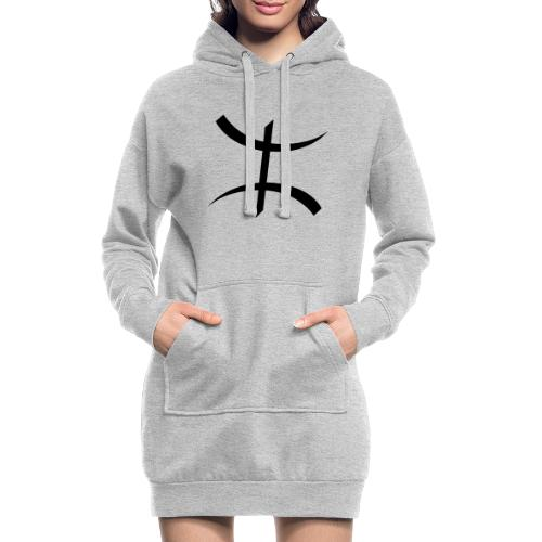 Motif Kabyle - Sweat-shirt à capuche long Femme