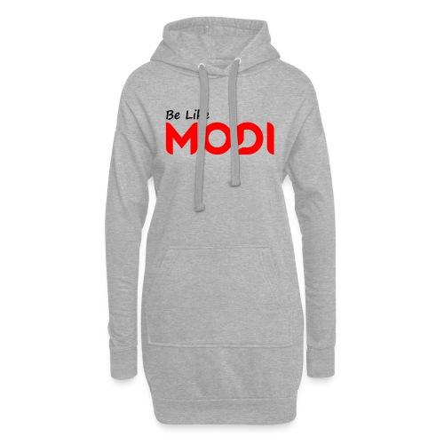 Be Like MoDi - Długa bluza z kapturem