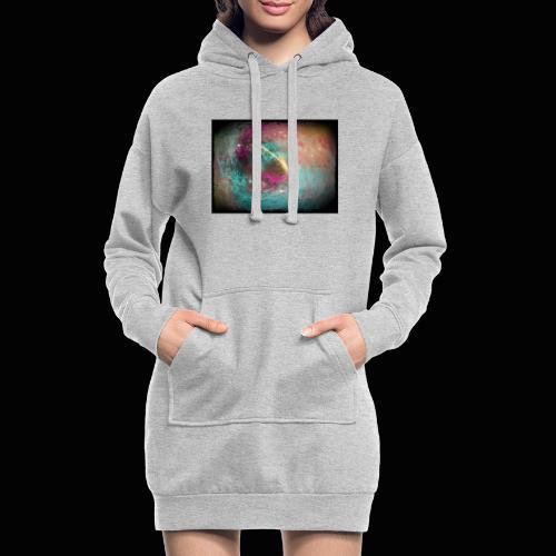 universo - Sudadera vestido con capucha
