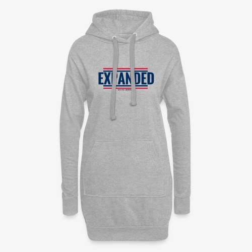 EXPANDED: original logo - Sweat-shirt à capuche long Femme