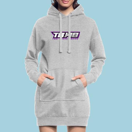 Tob Logo Lila - Hoodie-Kleid