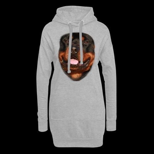 rotweiller face - Hoodie Dress