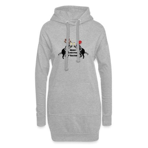 Xmas Raccoons - Hoodie Dress