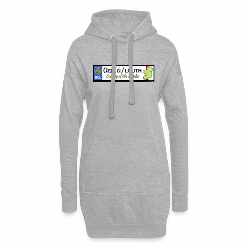 CO. LOUTH, IRELAND: licence plate tag style decal - Hoodie Dress