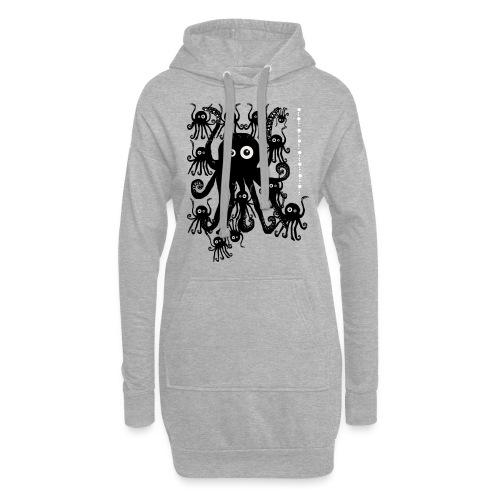 Sweet Octopi by BlackenedMoonArts - Hoodie-kjole