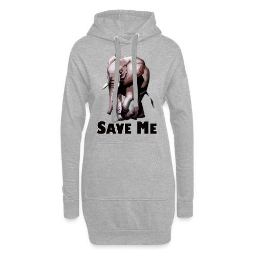 Elefant - SAVE ME - Hoodie-Kleid