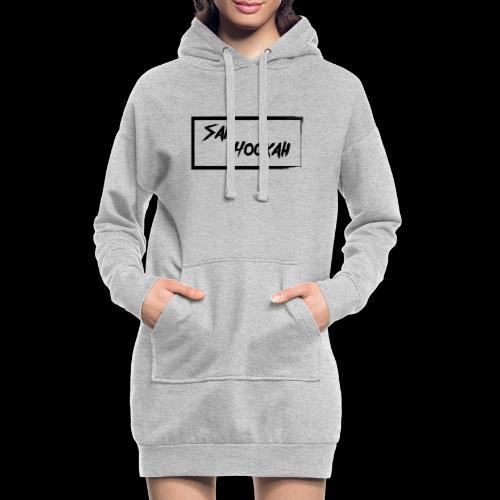 Design 1 Black Edition - Hoodie-Kleid