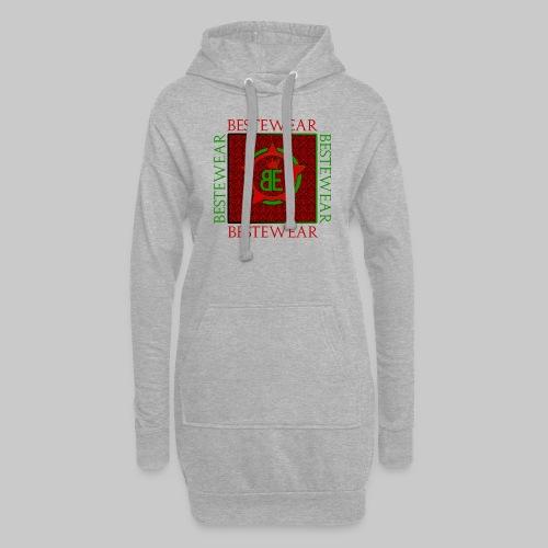 #Bestewear - Royal Line (Green/Red) - Hoodie-Kleid