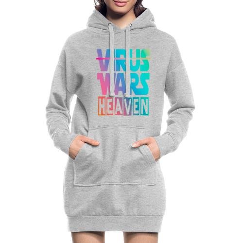 HEAVEN WARS - Sweat-shirt à capuche long Femme
