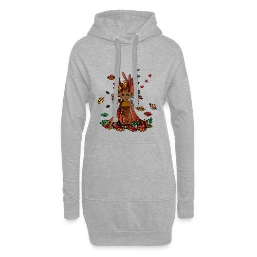 Coma- Die Hüterin der Wälder - Hoodie-Kleid