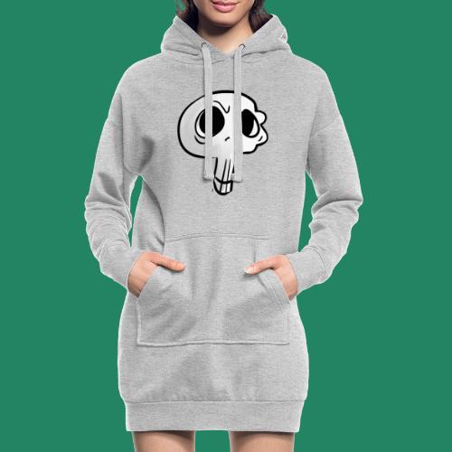 Skull - Sweat-shirt à capuche long Femme