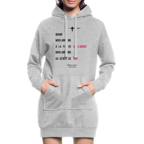 Billy Graham 1918 2018 - Sweat-shirt à capuche long Femme