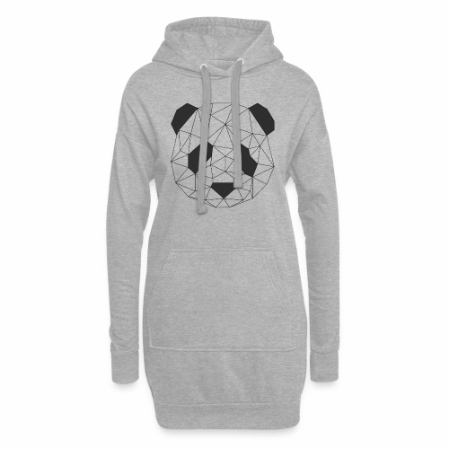 panda - Sweat-shirt à capuche long Femme
