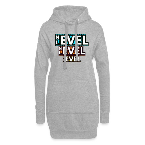 Nevel Level 3 colours - Hoodie Dress