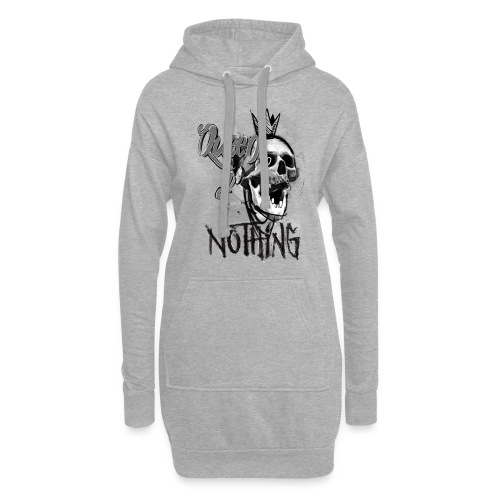 Queen of Nothing bright colors - Hoodie-Kleid
