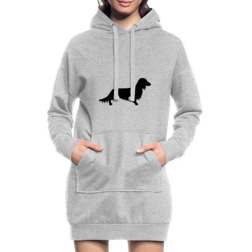 Langhaardackel - Hoodie-Kleid