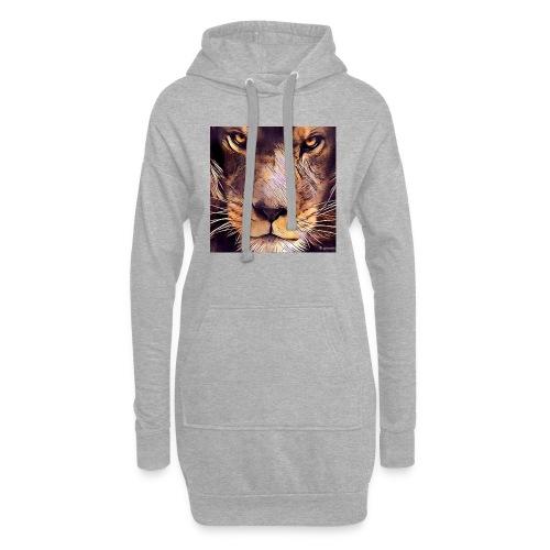 leon - Sudadera vestido con capucha