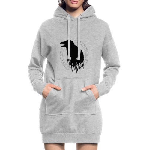 Huginn & Aettir - Sweat-shirt à capuche long Femme