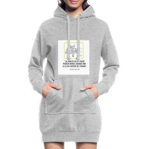 La PUREZA no se puede perder nunca - Hoodie Dress