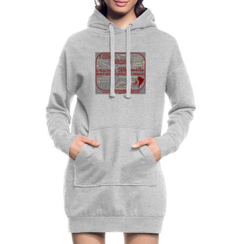 Segeln durch die Brüllenden Vierziger - Hoodie-Kleid