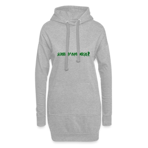 school of hardknocks ver 0 1 green - Hoodie-kjole