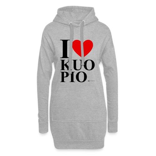 I LOVE KUOPIO ORIGINAL (musta) - Hupparimekko