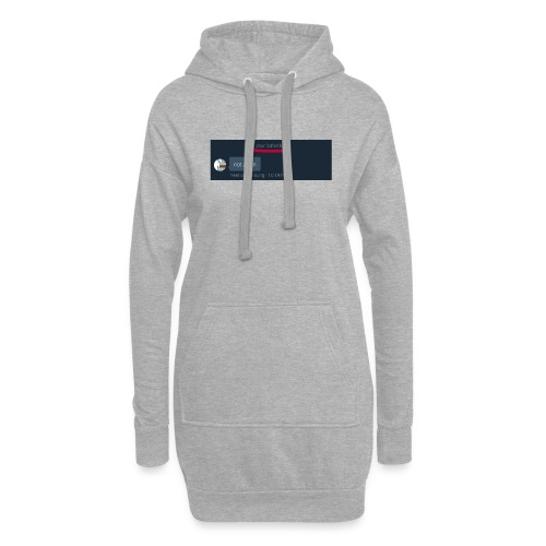 Your Father Left ..... (MEME LINE) - Hoodie Dress