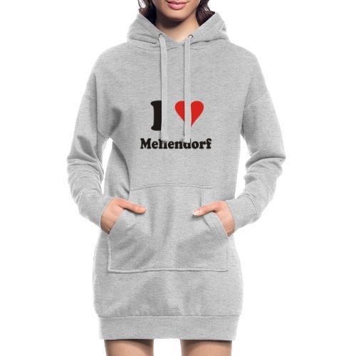 ILoveMellendorf - Hoodie-Kleid