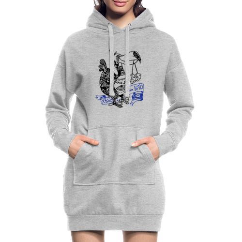 Dronte - Hoodie-Kleid
