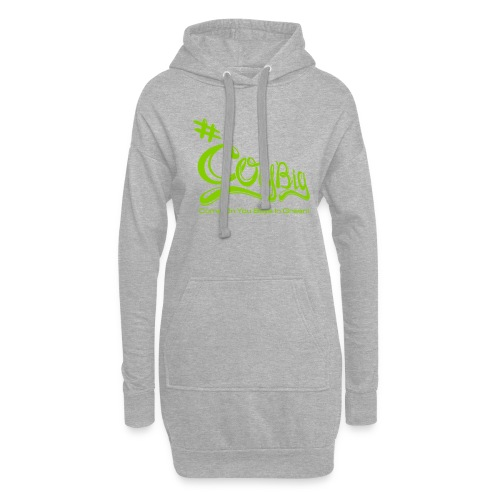 COYBIG - Come on you boys in green - Hoodie Dress
