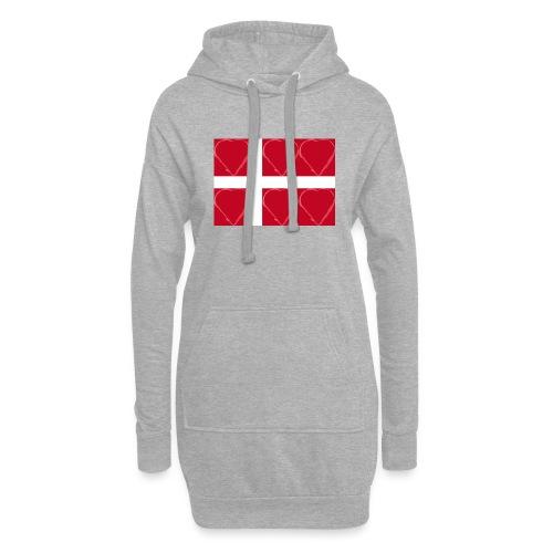Dänemark 21.2 - Hoodie-Kleid