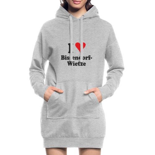 I Love Bissendorf-Wietze - Hoodie-Kleid