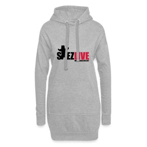 OursLive (version dark) - Sweat-shirt à capuche long Femme