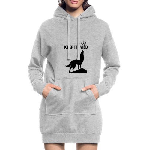 Keep it wild - Hoodie-Kleid