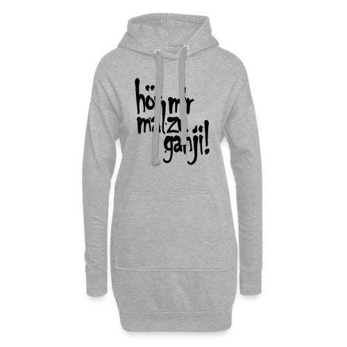 Ganji 2.0 / Der Kultspruch für deine Tasse & mehr - Hoodie-Kleid